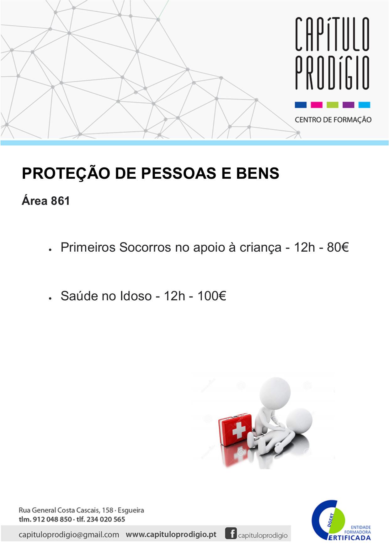ÁREA 861 - PROTEÇÃO DE PESSOAS E BENS